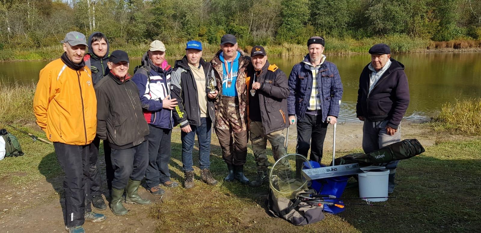 Sügisene kalapüügivõistlus Vorbusel