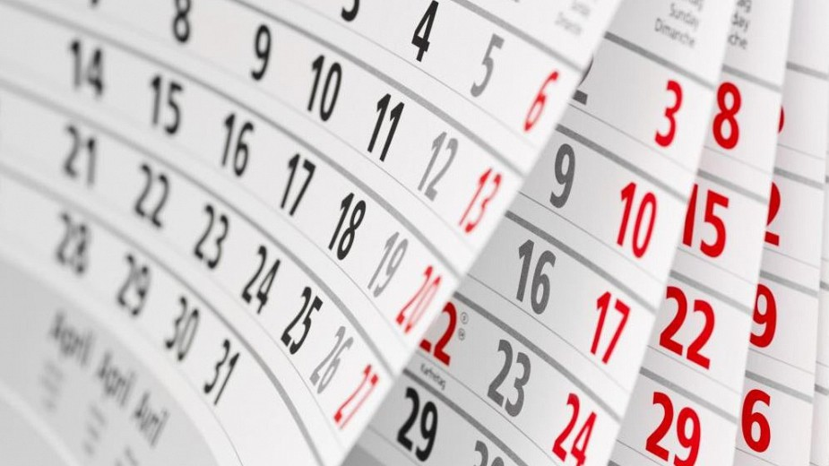 2019. aasta kalenderplaan on kinnitatud