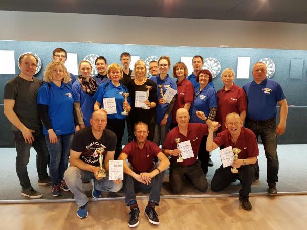 1. rahvusvahelised kurtide noolevõistlused Liepejas