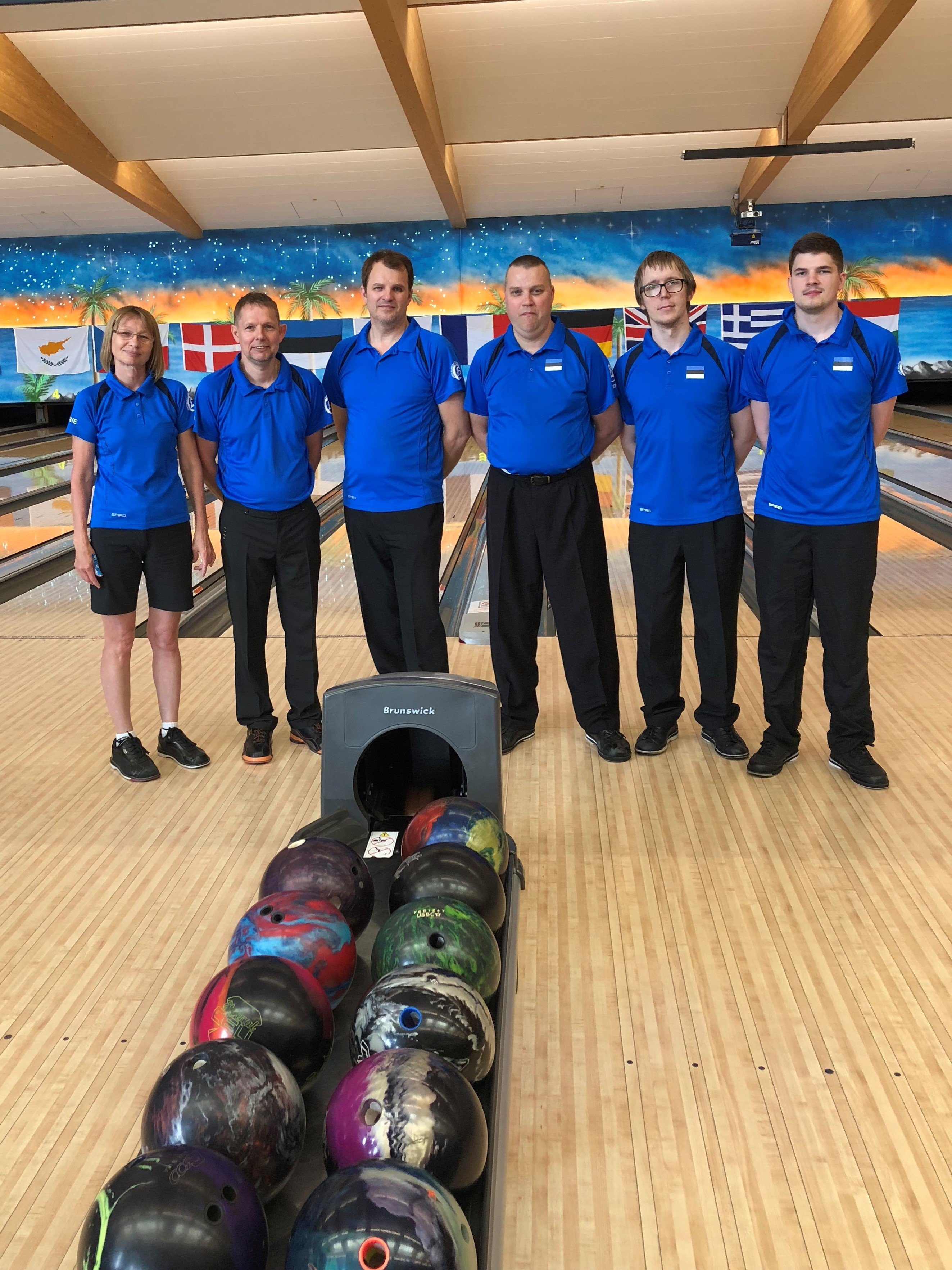 11. EM bowling Münchenis, Saksamaal